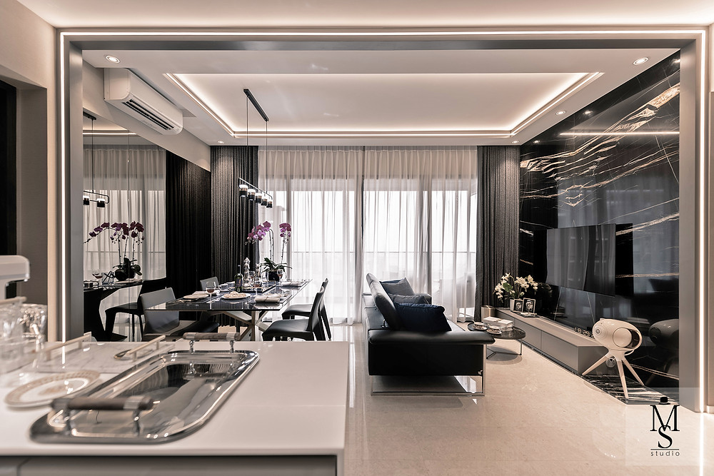 mr shopper studio the clement canopy renovation project luxury interior design smart home smart living technology integration smart lights configuration settings my lighthouse smart switches koble singapore