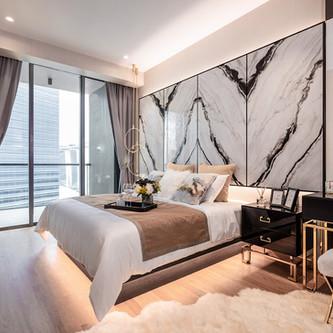 Marina One | Master Bedroom