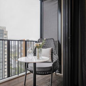Le Quest I | Master Bedroom Balcony