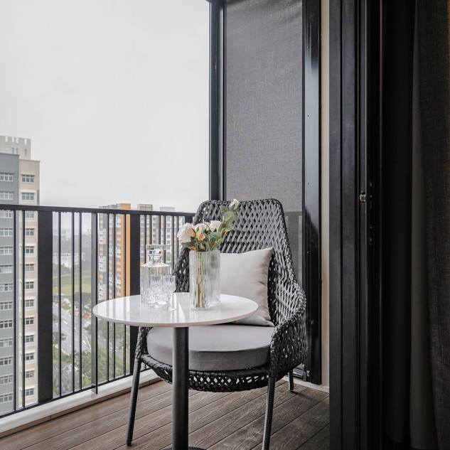 Le Quest I   Master Bedroom Balcony