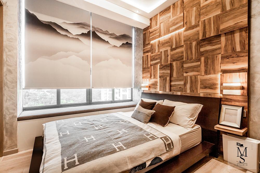 reclaimed wood wall paneling mr shopper studio one robin renovation singapore interior design japanese themed inspired