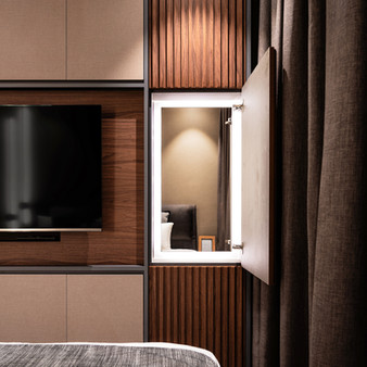 Le Quest I | Master Bedroom Feature Wall