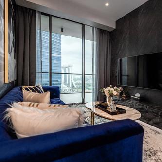 Marina One | Living Room
