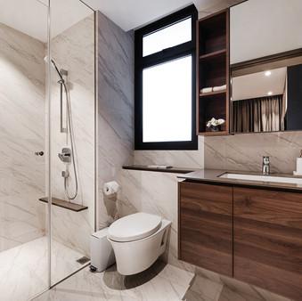 Le Quest I | Master Bathroom
