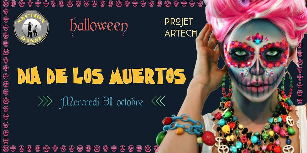 Halloween - Soirée déguisée Dia de Los Muertos à Amiens