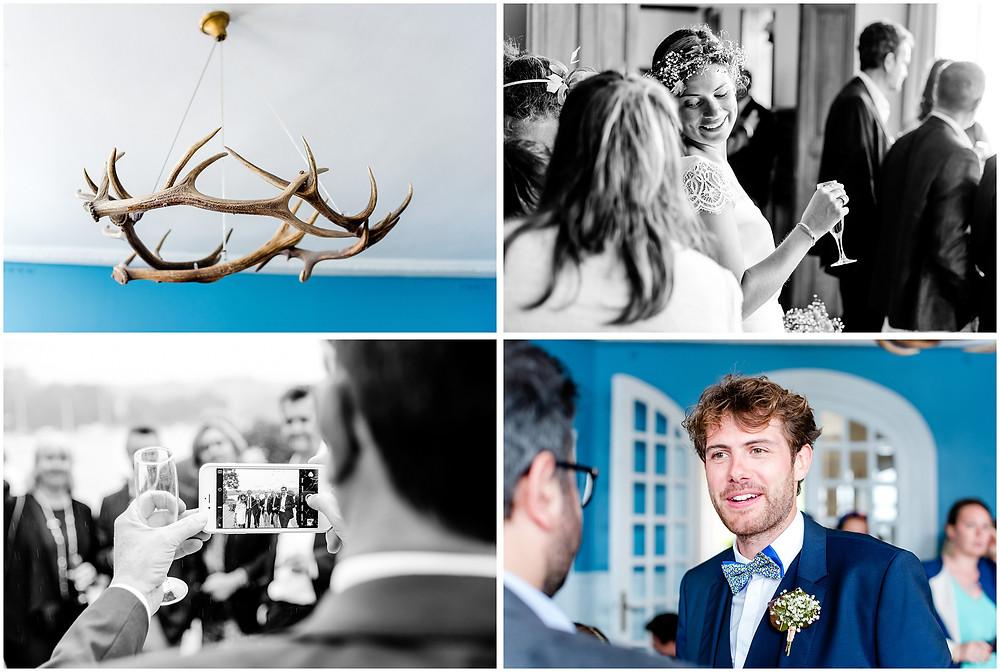 Mariage àl'Ile Tudy - Manoir de Kérouzien - photos cocktail - Brigitte Delibes Photographie - Photographe Mariage Nantes