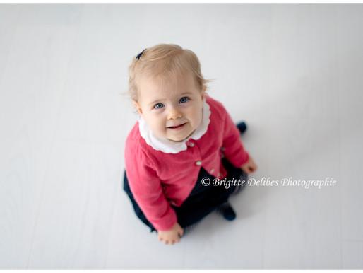 Photographe bébé Nantes - Séance photo enfant - Isaure, 10 mois