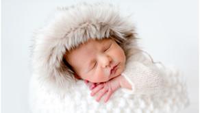 Photographe naissance Nantes - Séance photo nouveau-né au studio