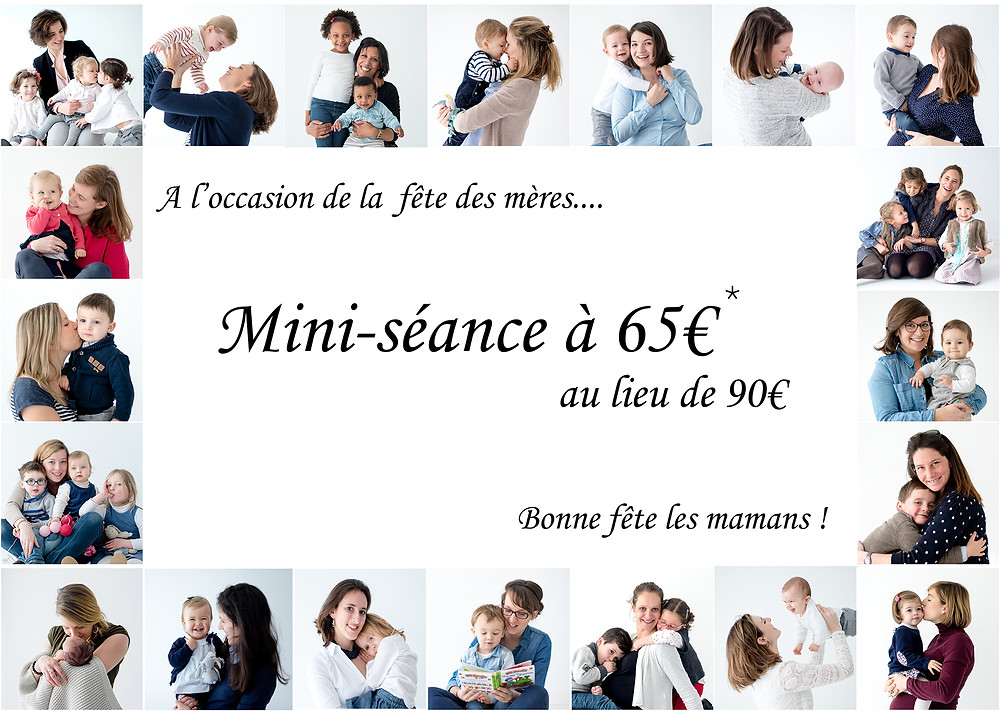 Brigitte Delibes Photographie - annonce promotion réduction séance photo fête des mères