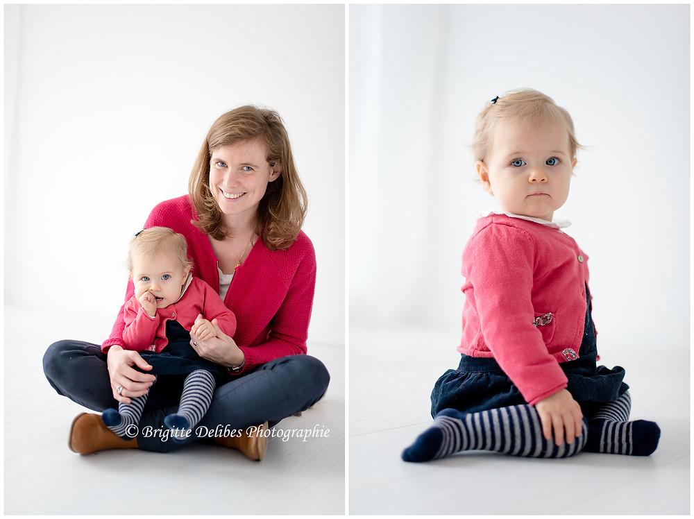 Brigitte Delibes Photograpie - Photographe bébé enfant Nantes -  Séance photo enfant - Home studio - Nantes