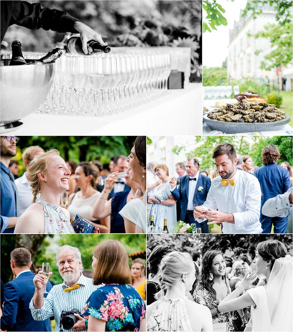 Mariage en charente - photos cocktail - Brigitte Delibes Photographie - Photographe Mariage Nantes