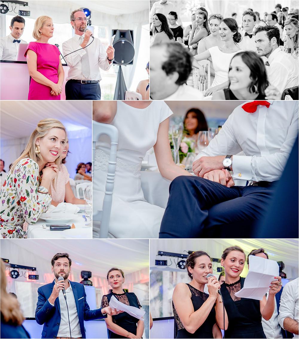 Mariage en charente - photos diner - Brigitte Delibes Photographie - Photographe Mariage Nantes