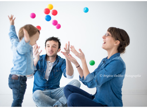 Photographe famille Nantes - Séance photo famille - Home studio