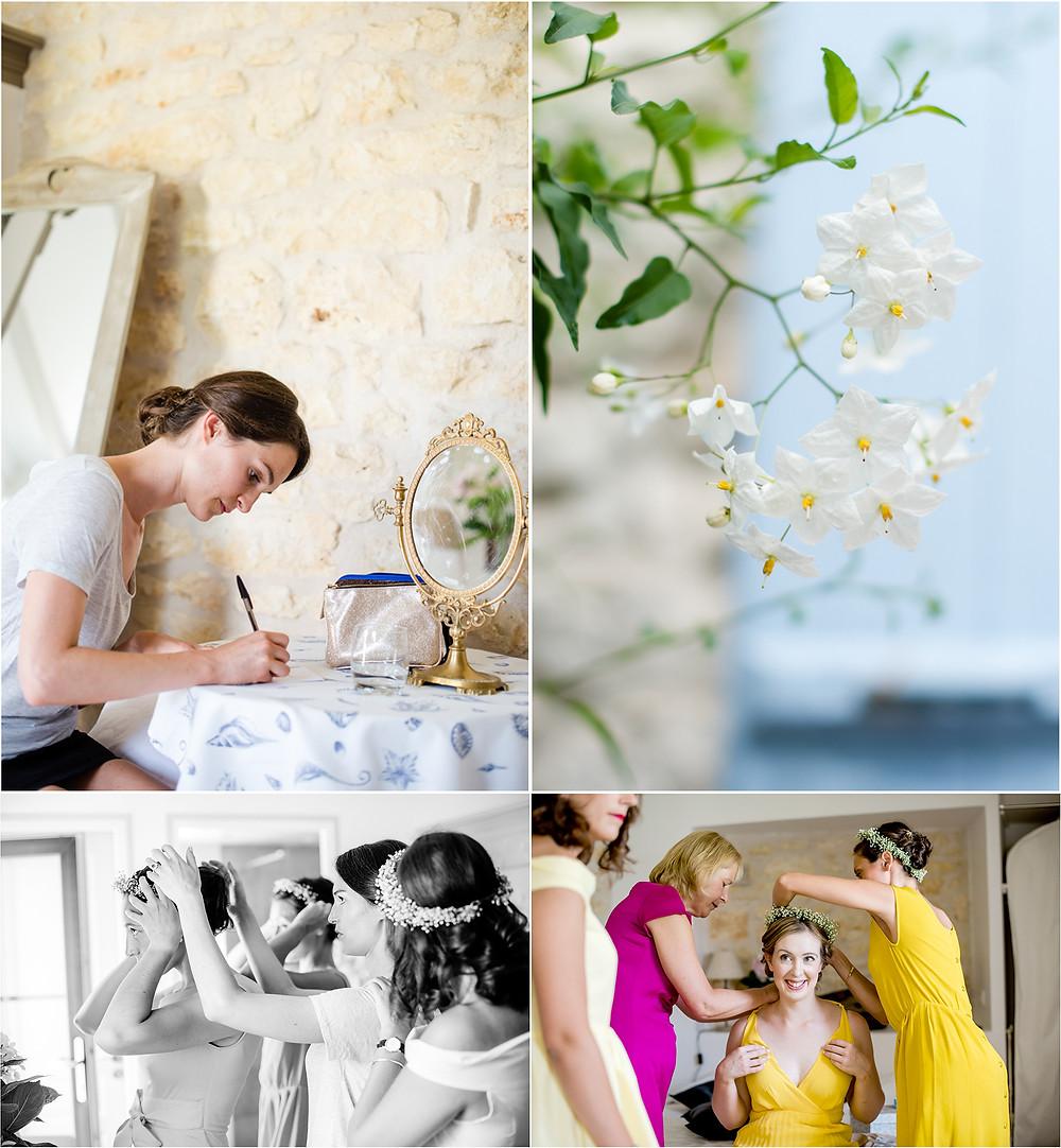 Mariage en charente - photos préparatifs - Brigitte Delibes Photographie - Photographe Mariage Nantes