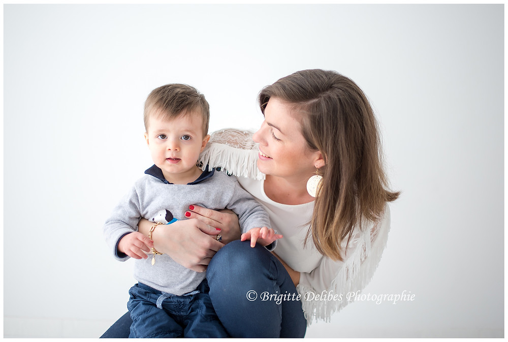 Brigitte Delibes Photographie - Photographe famille Nantes -  Home Studio, Séance photo fratrie, Nantes