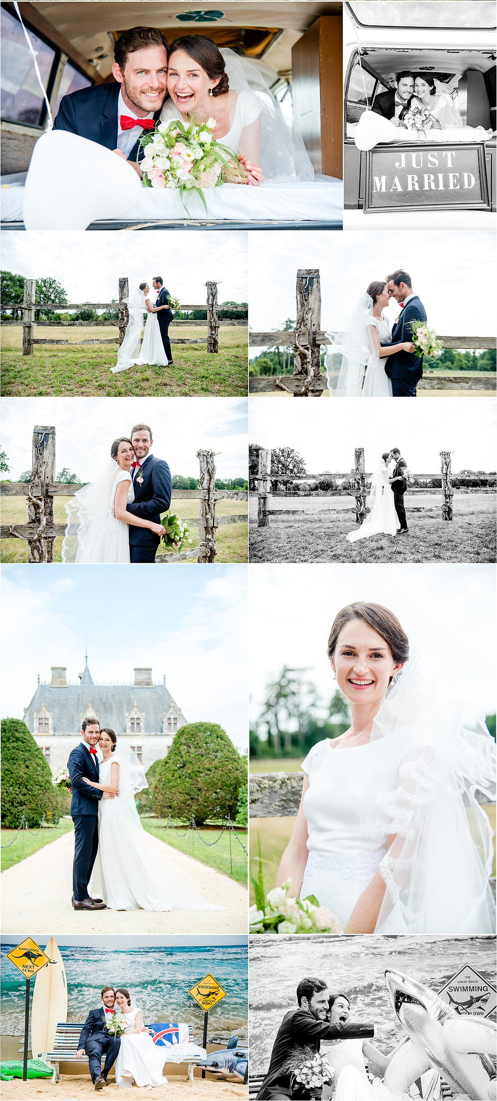 Mariage en charente - photos couple - Brigitte Delibes Photographie - Photographe Mariage Nantes
