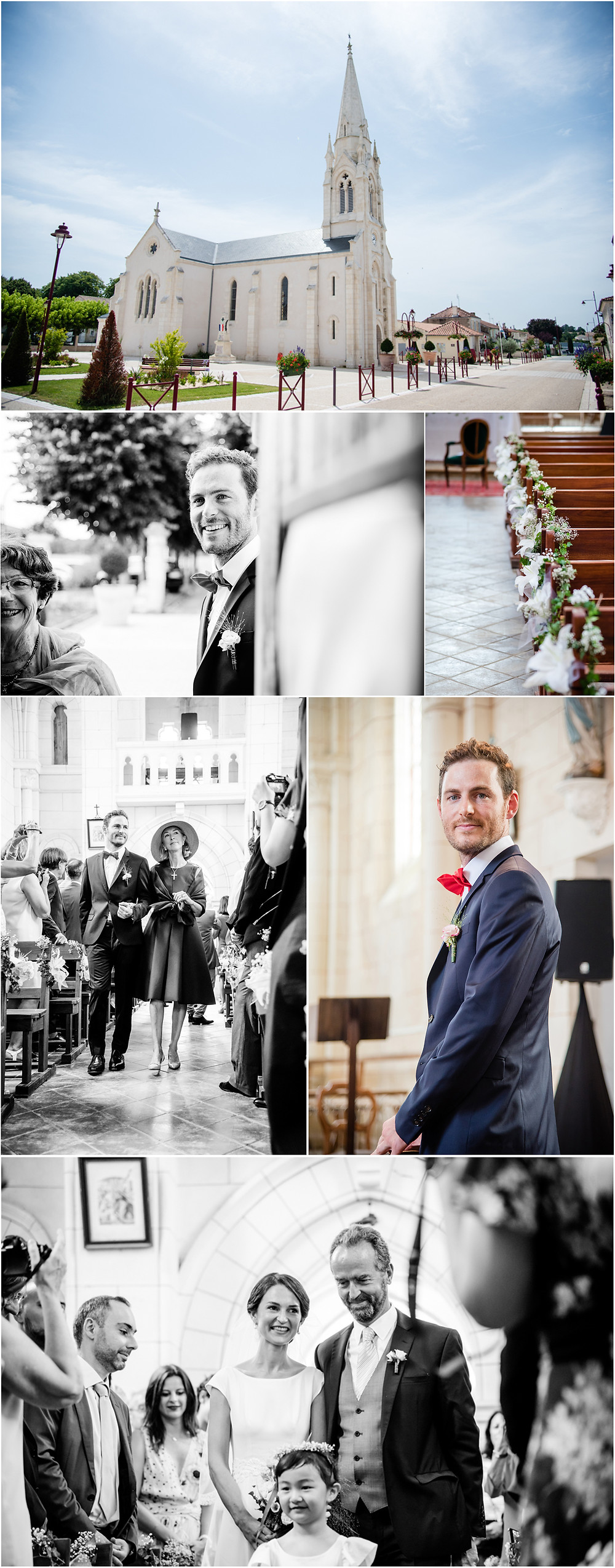 Mariage en charente - photos cérémonie religieuse - Brigitte Delibes Photographie - Photographe Mariage Nantes