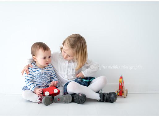 Photographe famille Nantes - Séance photo en famille - Home studio