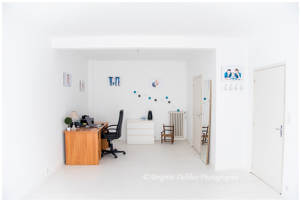 Brigitte Delibes Photographie - Home studio - Studio photo en lumière naturelle