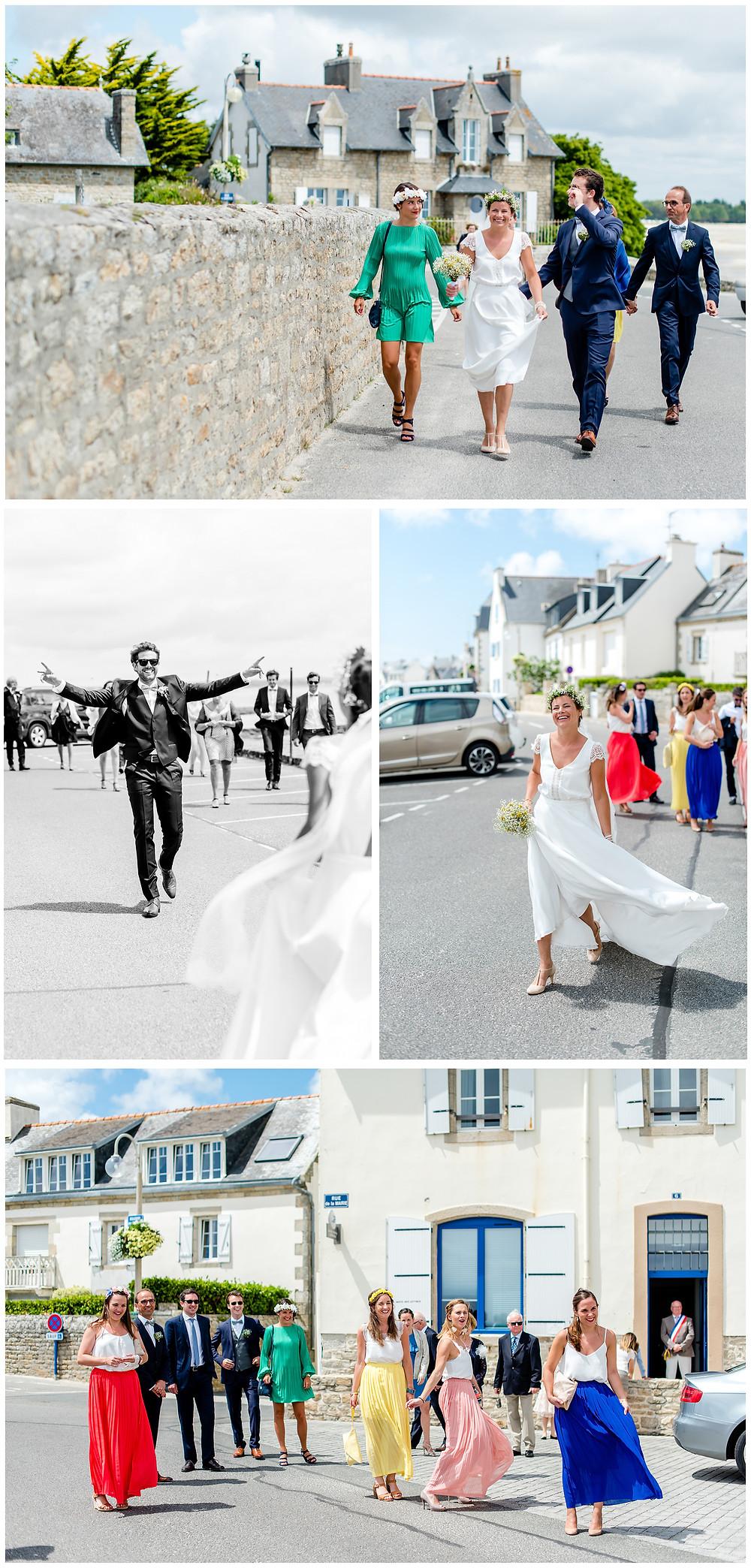 Mariage àl'Ile Tudy - Manoir de Kérouzien - photos mairie mariage civil - Brigitte Delibes Photographie - Photographe Mariage Nantes