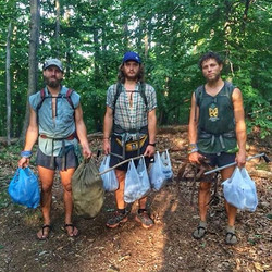 Reminiscing on the time we met this crazy crew at Appalachian Trail Days in 2015