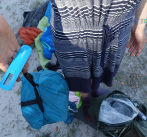 Florida Trail: 29.6 Pounds of Trash Packed Out