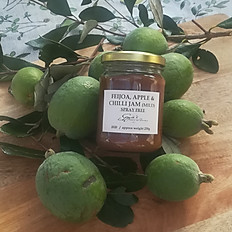 Feijoa, Apple & Chilli Jam (mild) or (medium hot)