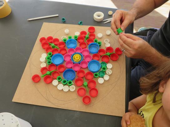 Atelier mosaique recup Etoile.JPG
