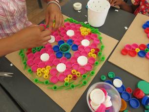 Atelier mosaique recup Mandala.JPG