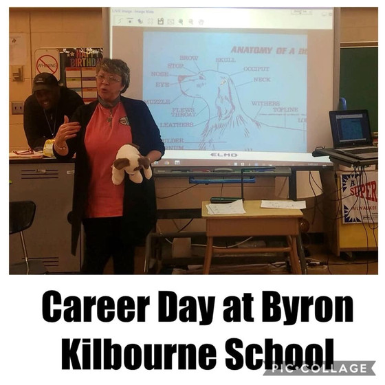 Career Day at Bryon Kilbourne Elementary