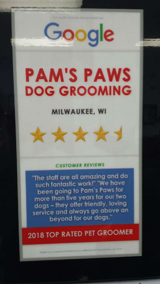 Google Loves Pam's Paws!