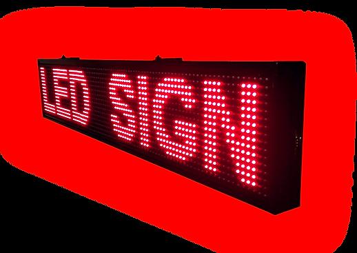 שלט אדום