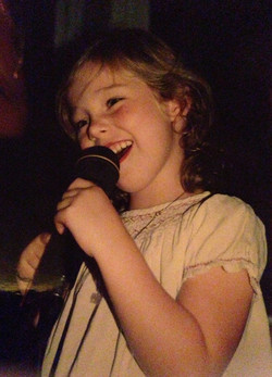 never without a mic...even at 5
