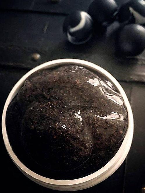 Black Flower Pikake Exfoliating Mask