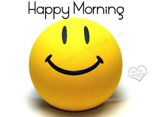 What makes you smile in the morning?