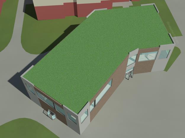 Depot Exterior - West View