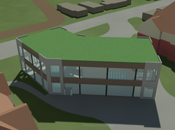 Depot Exterior - East View