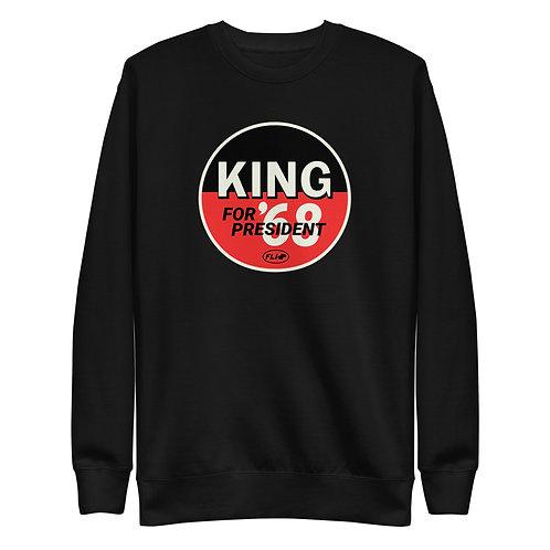 King for President Pullover