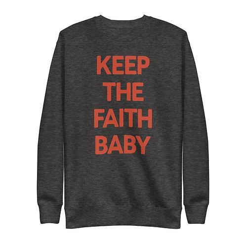 Keep the Faith Baby Pullover
