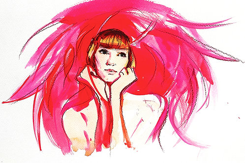 'Pink Lady' Kathy Whyte