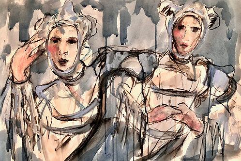 'Thierry Mugler, Twins' Lindy Dunbar