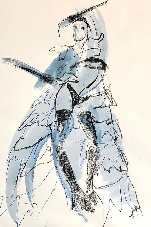'Thierry Mugler, Hip' Lindy Dunbar