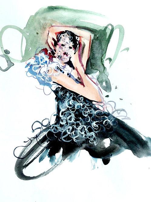 'Black lace beauty' 1 Kathy Whyte