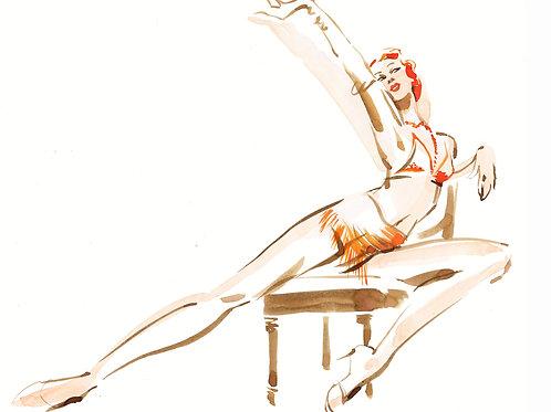 Kathy Wyatt-Showgirl