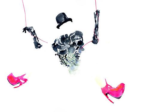 'Hanging Fun' Isher Dhiman