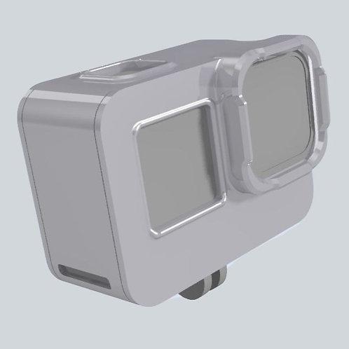 Universal Gopro Hero 9 Schutzhülle mit ND Filterhalterung