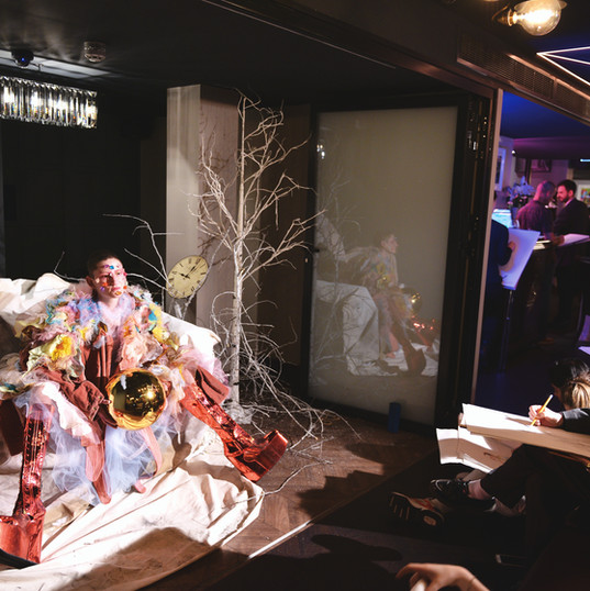 An Immersive Drawing Experience at The Wellington Members Club