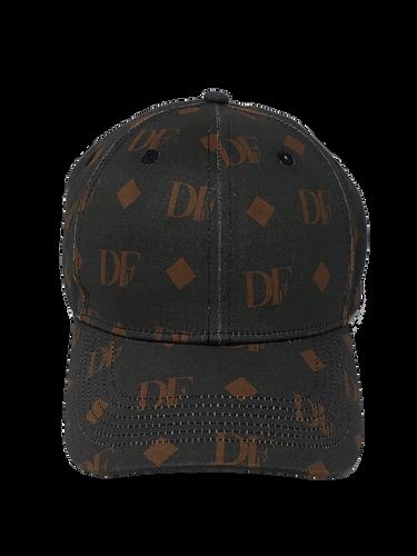 DFP mono x black 469c x strap cap x webs