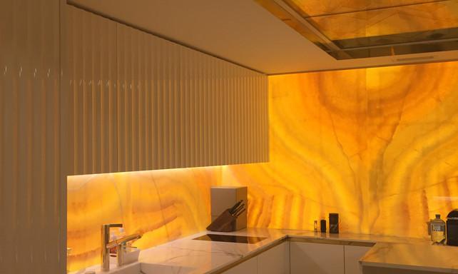 kitchen in private penthouse - Vienna, Austria