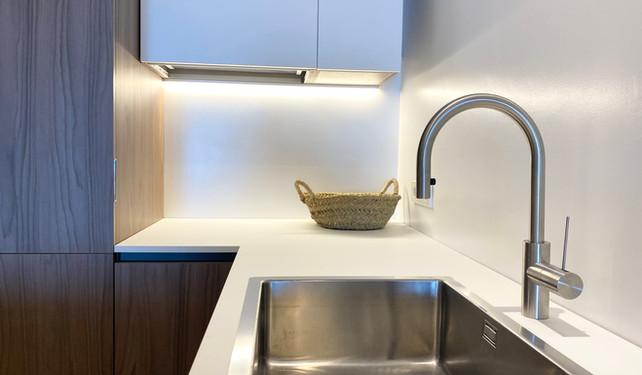 kitchen in private villa - Cala Tarida, Ibiza
